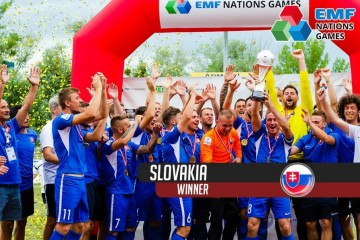 VIDEO SZMF: Slováci ovládli EMF Nations Games v Grazi'